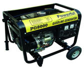 Air cooled 4 stroke small electric start portable generator for home use 6000 watt