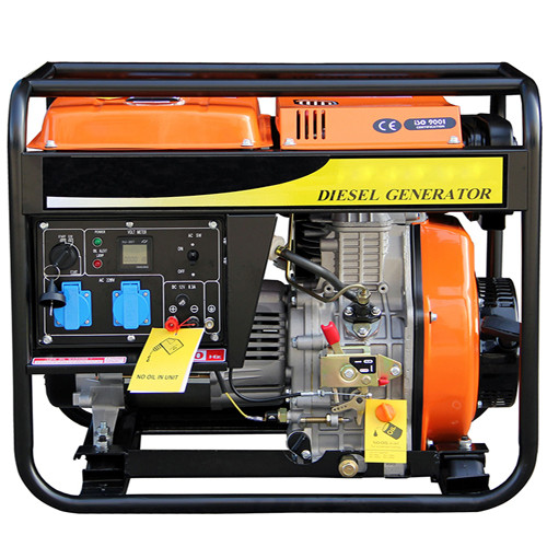 Portable Strong Frame 220v Single Phase 2.5KW Diesel home standby generators