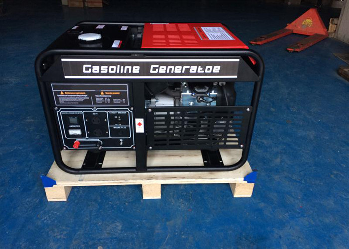 High Power Electric Portable Gasoline Generator Residential 12kw AC Three Phase