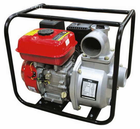 WP-30 3 Inch Gasoline Water Pump , Self-Priming Centrifugal gas power water pump