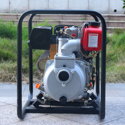 10HP Powerful 4 inch agricultural irrigation diesel water pump for farms