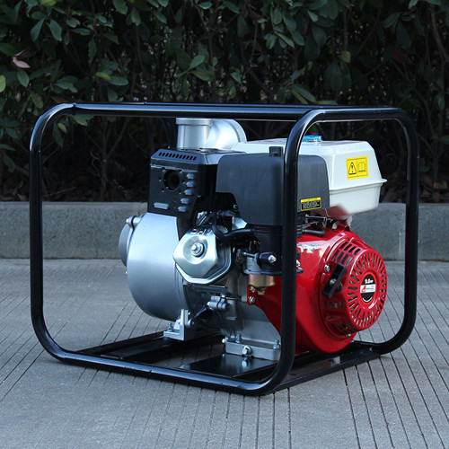 High Powered Self Priming Aluminum Gasoline Water Pump 4 Inch 100mm 13HP Engine