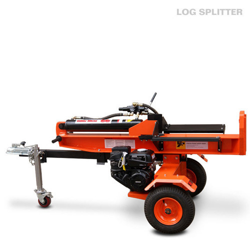 Forestry machinery  two way log splitters hydraulic gasoline powered 22 ton