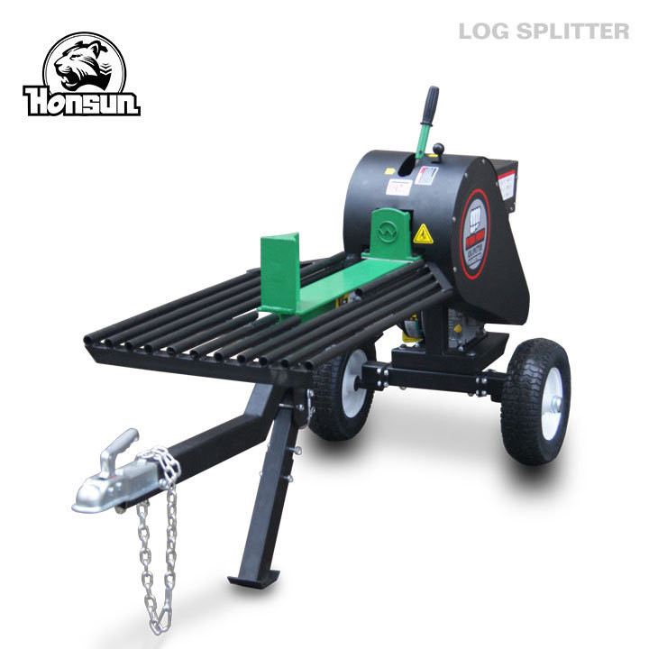 34 Ton Mechanical wood log splitter equipment  , horizontal / vertical wood splitter
