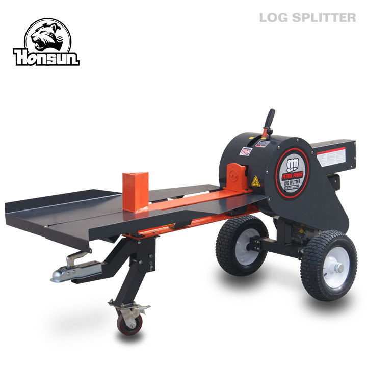 Agriculture 34 ton firewood gas log cutting and splitting machine