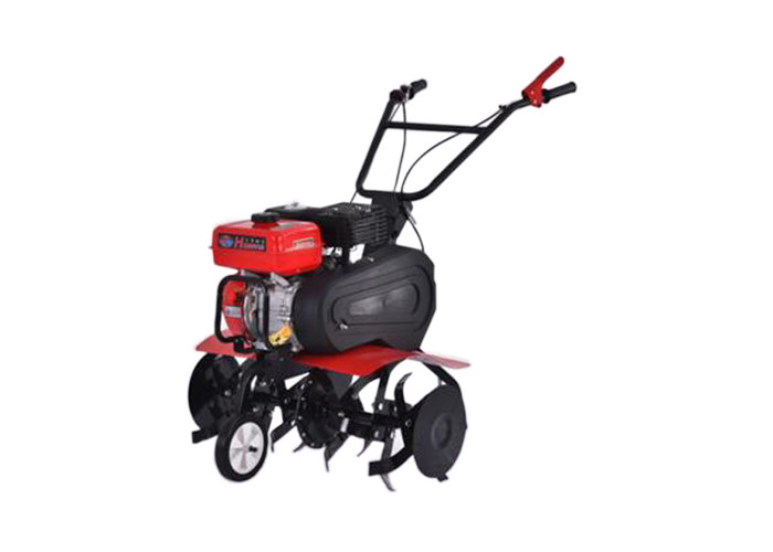 Gasoline Hand Push Garden Cultivator 6.5HP Petrol Power Tiller Machine
