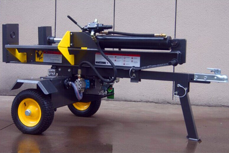 Powerful Firewood Log Splitter With Max 34 Ton Force No Hydrauic Oil