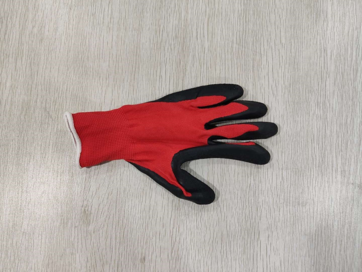 42 Grams Gardening Machines Working Glove For Labor Nylon Material Nitrile Glove