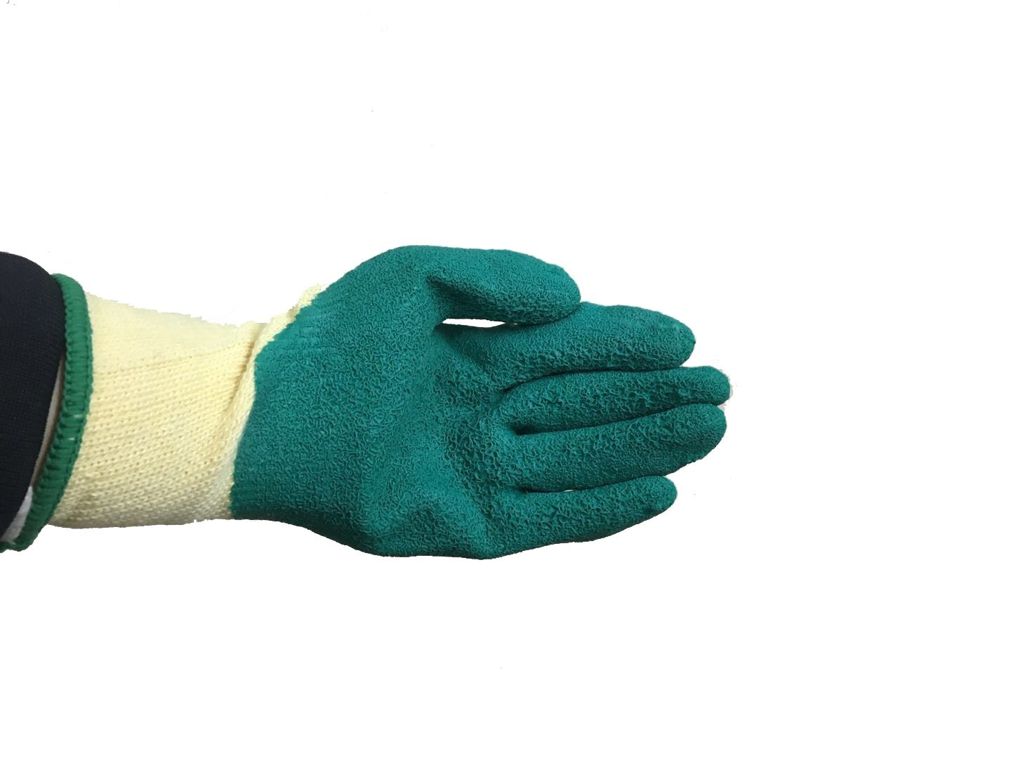 90g Gardening Machines Latex Glove With 13 Gauge Of Cotton Material For Construction