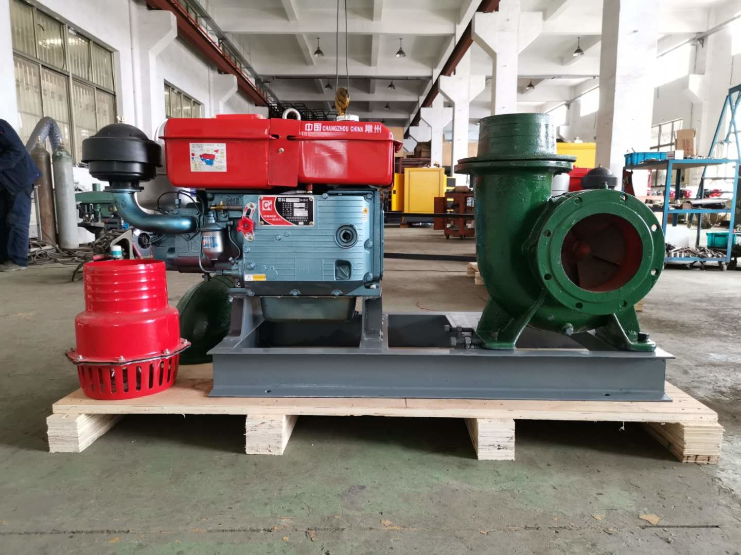 Copy Honda 8 Inch Diesel Water Pump , High Volume Farm Irrigation Pumps