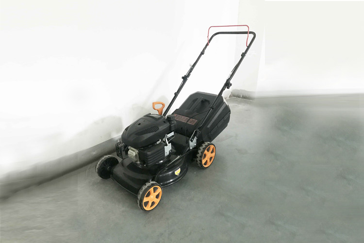 Commercial Portable Garden Lawn Mower With 18 Inch Steel Deck Lawnmower