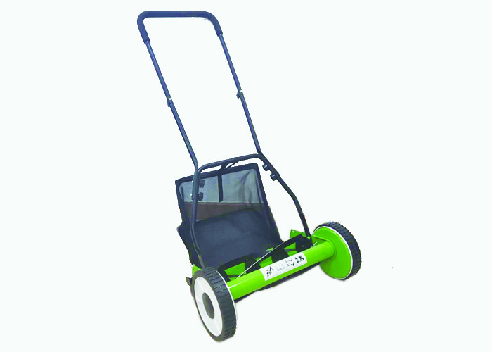 Light Weight Simple Garden Lawn Mower Adjustable Cutting Height Non Pollution